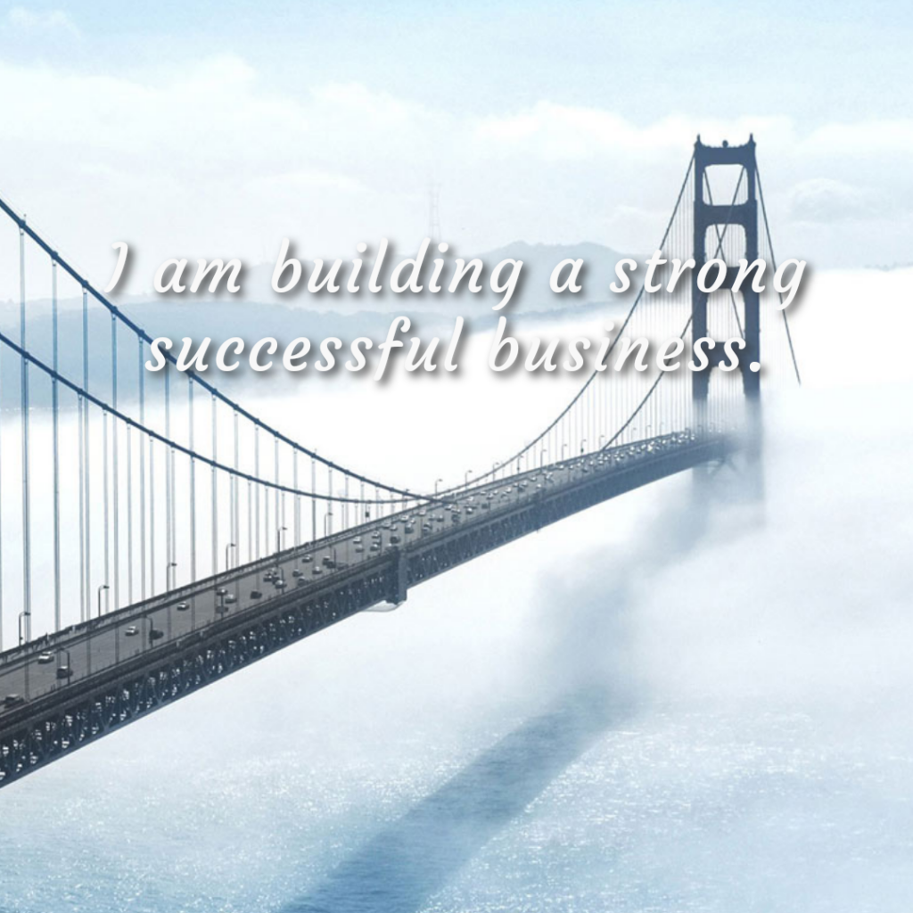 Successful Business Affirmation